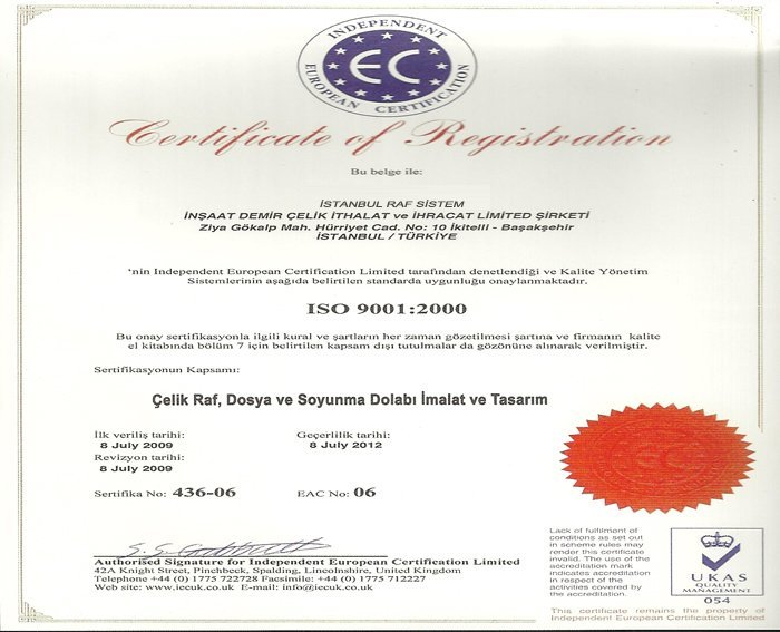 Independent Europan Certification